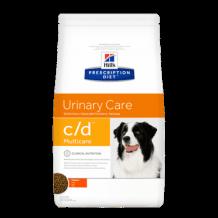 HILL'S Prescription Diet сух.для собак С/D профилактика МКБ струвиты (уценка)