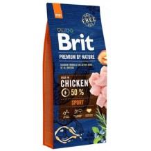 Brit Premium by Nature Sport для взрослых собак с высокими затратами энергии
