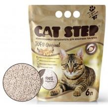 CAT STEP Тоfu Original Комкующийся наполнитель растительного происхождения