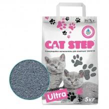 CAT STEP Professional Ultra бентонитовый комкующийся наполнитель