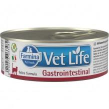 Farmina VetLife VET LIFE NATURAL DIET CAT GASTROINTESTINAL Корм для кошек при заболеваниях ЖКТ 85г