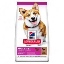 HILL'S SCIENS PLAN сух.для собак миниатюрных пород Ягненок/Рис