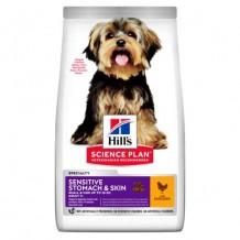 Hill's SP Small&Miniature корм для собак декор. пород с чувствительным пищеварением