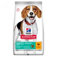HILL'S Science Plan сух.для собак идеальный вес