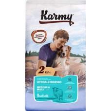 Karmy Hypoallergenic Medium & Maxi Ягненок сухой корм для собак средних и крупных пород старше 1 года, склонных к пищевой аллергии
