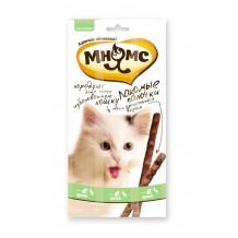 Мнямс Лакомые палочки для кошек Утка, кролик