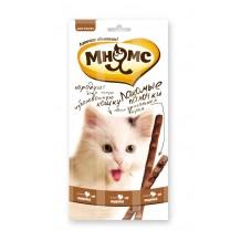 Мнямс Лакомые палочки для кошек Индейка, ягненок