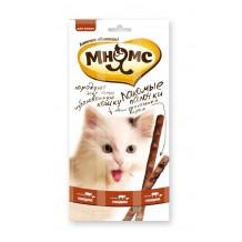 Мнямс Лакомые палочки для кошек говядина и печень