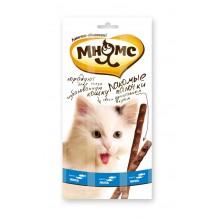 Мнямс Лакомые палочки для кошек Форель, лосось