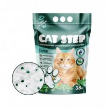 CAT STEP Fresh Mint Наполнитель силикагелевый 3,8л/1,67кг