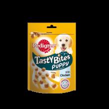 PEDIGREE Tasty Bites Puppy ароматные кусочки с курицей для щенков