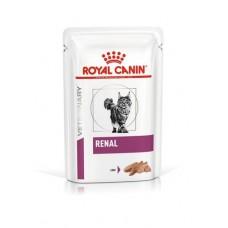 ROYAL CANIN Renal Консервированный корм для взрослых кошек при ранней стадии почечной недостаточности, паштет