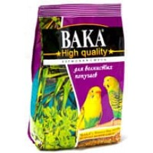 Вака High Quality корм д/волнистых попугаев 500г