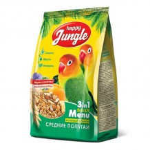 Happy Jungle корм для средних попугаев