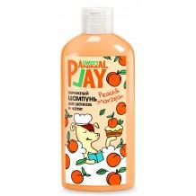 Animal Play Sweet Шампунь бережный для щенков и котят Персиковый марципан