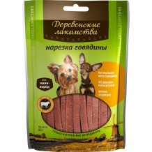 Деревенские лакомства для мини-пород Нарезка говядины