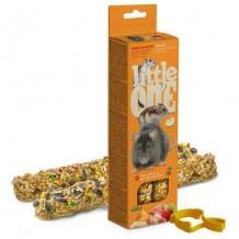 Little ONE палочки для хомяков,крыс,мышей с фруктами и орехами 2шт*60г