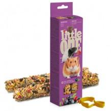Little ONE палочки для хомяков,крыс,мышей с ягодами 2шт*60г