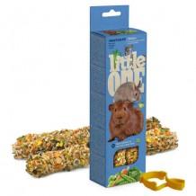 Little One палочки для морских свинок, кроликов и шиншилл с овощами 2 шт*60 г