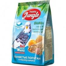 Happy Jungle Корм для волнистых попугаев в период линьки