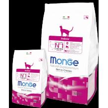 Monge Cat Indoor сух. корм для домашних кошек