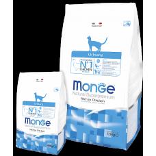 Monge Cat Urinary сух. корм для кошек профилактика МКБ