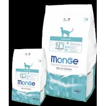 Monge Cat Hairball сух. корм для кошек для выведения шерсти