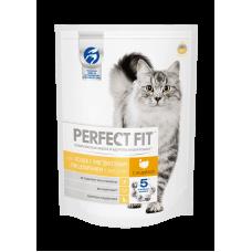PERFECT FIT для кошек с чувствительным пищеварением,индейка/пауч