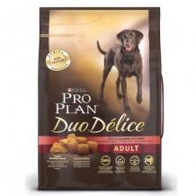 PRO PLAN Дуо Делис Сухой корм для взрослых собак, с лососем и рисом