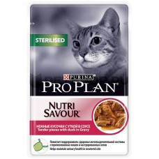 PRO PLAN конс. для кошек стерилиз. утка